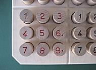 Produktbild 1818 Sudoku – mit geprägten Zahlen