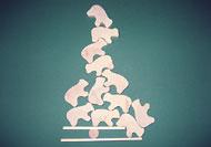 Produktbild 1831 Eisbär–Pyramide